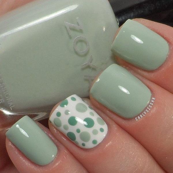 dots fall nail-49