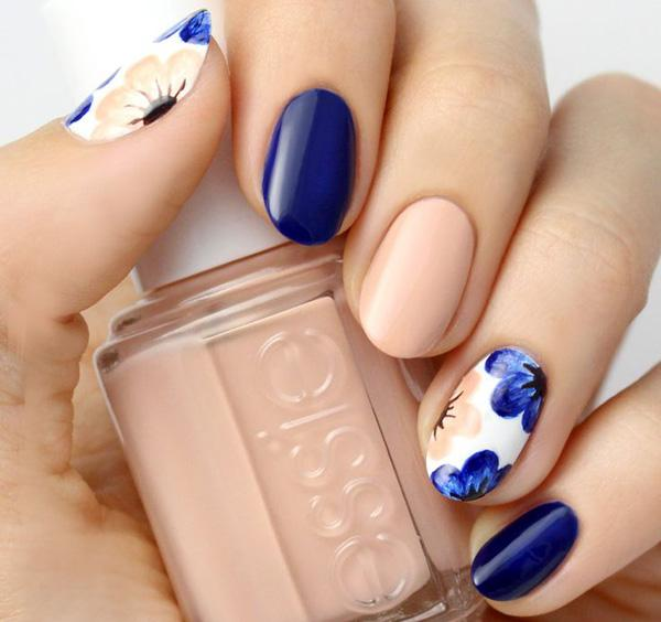 55 Seasonal Fall Nail Art Designs