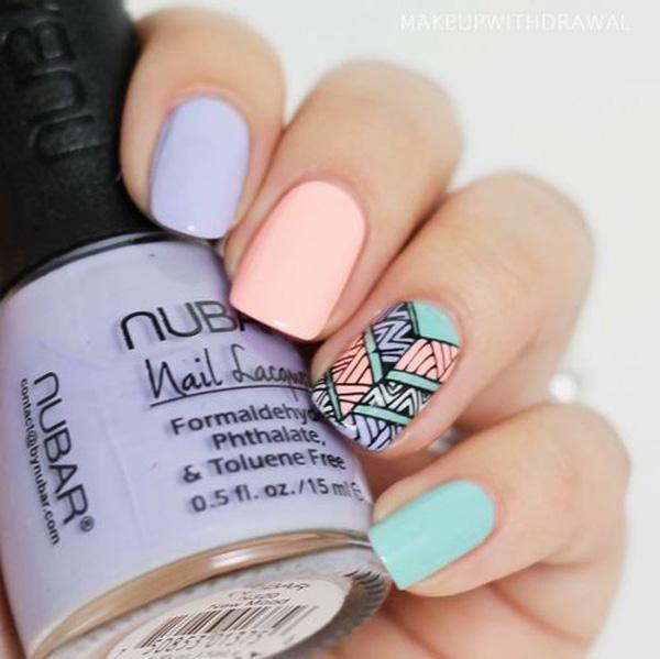 fall nail art ideas-53