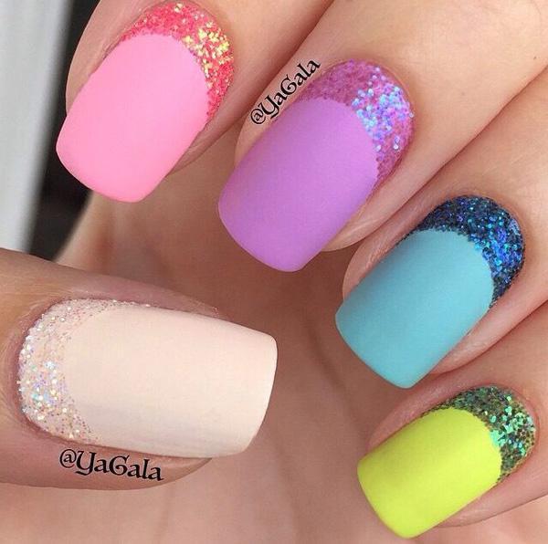 glitter nail-11