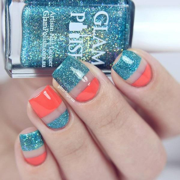 60 Glitter Nail Art Designs Cuded