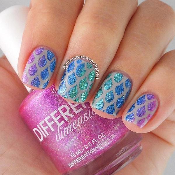 glitter nail-19