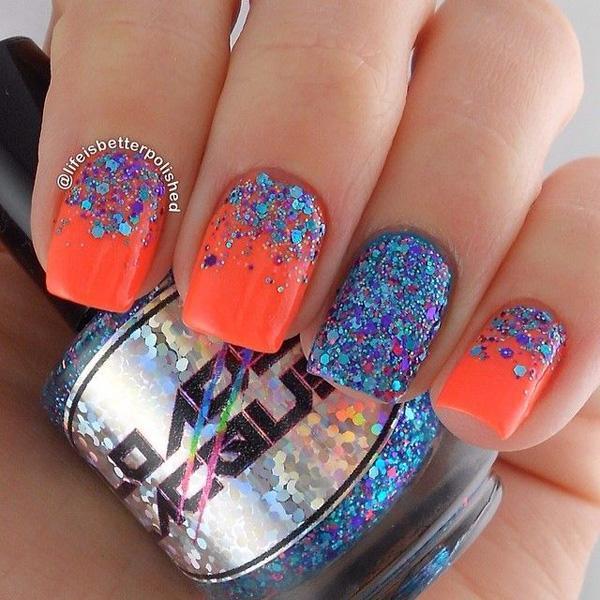 glitter nail--28