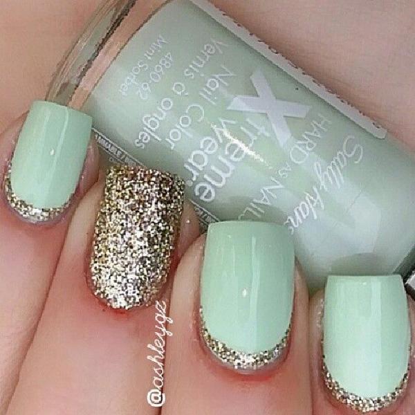 glitter nail--30
