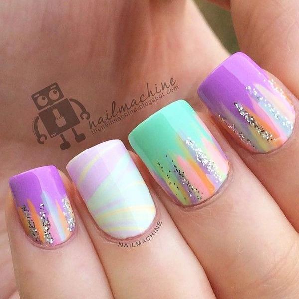 glitter nail-6