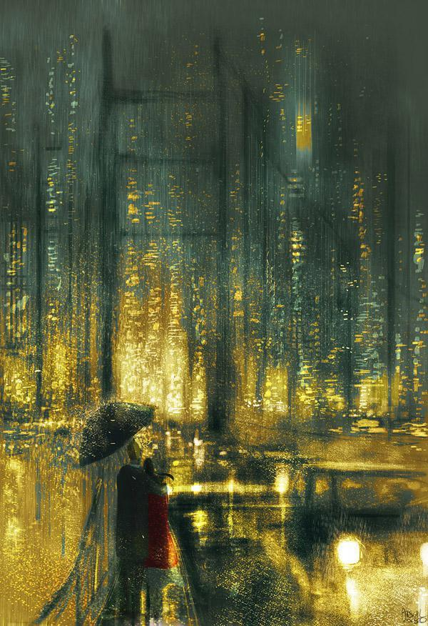 Another  rainy  night in San Francisco by Pascal Campion