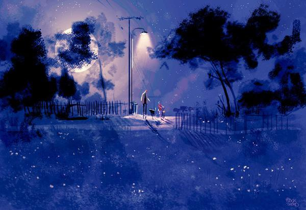 Back roading by Pascal Campion
