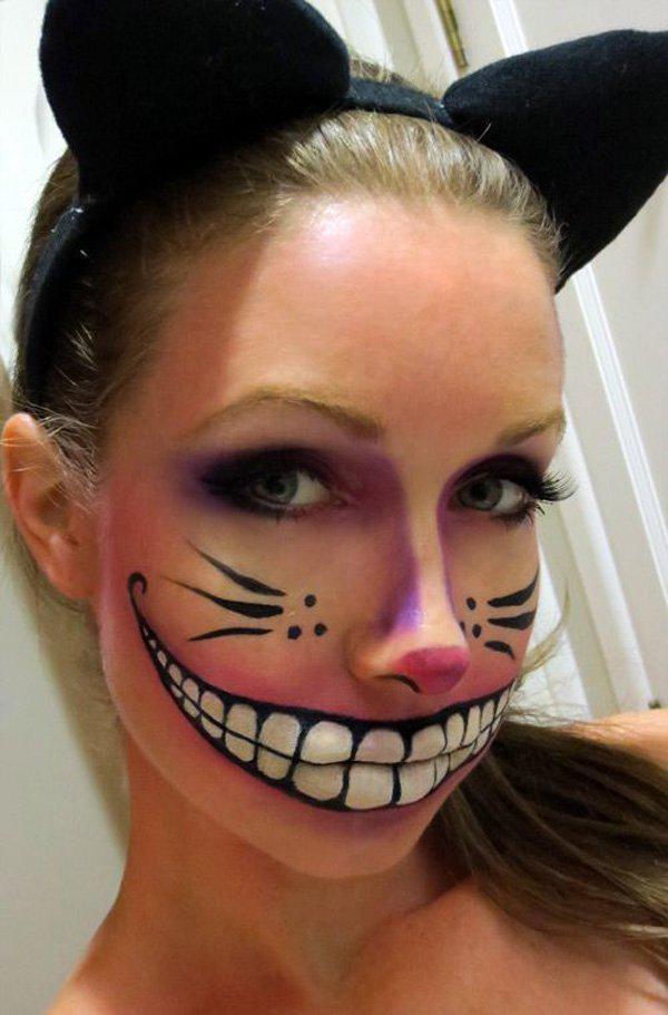 45+ Examples of DIY Halloween Makeup | Art and Design
