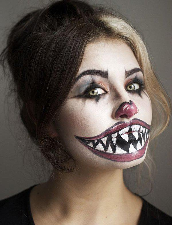 45 examples of diy halloween makeup art and design horrifically magnificent halloween makeup that you can recreate by yourself use dark and light colors solutioingenieria Image collections