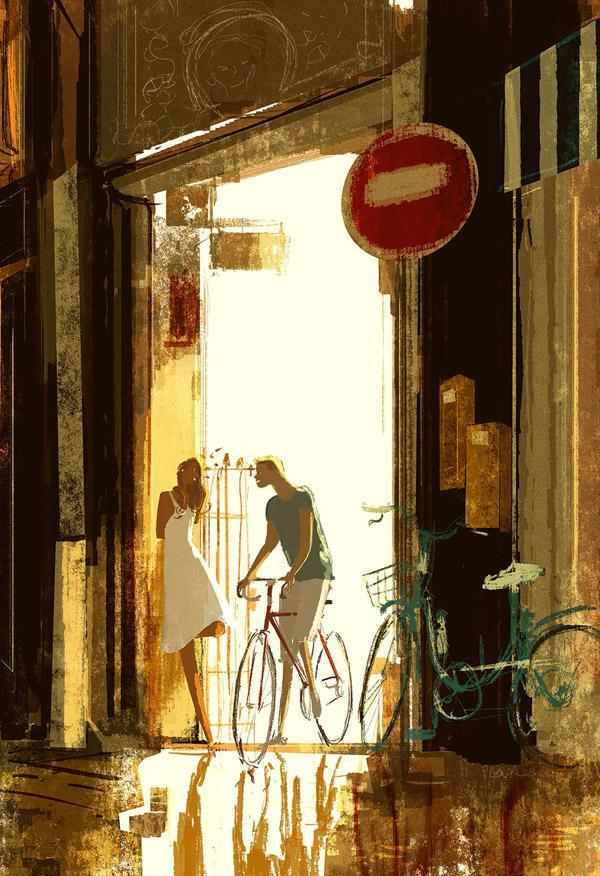 Friday night ride by Pascal Campion