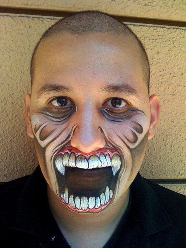 halloween makeup mouth - photo #36