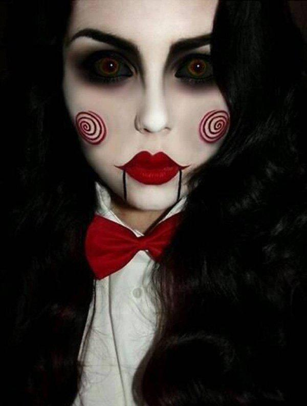 45 Examples Of DIY Halloween Makeup Art And Design
