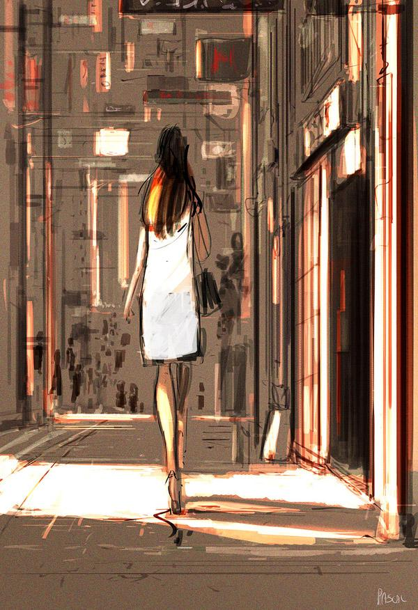 Japan Town. by Pascal Campion