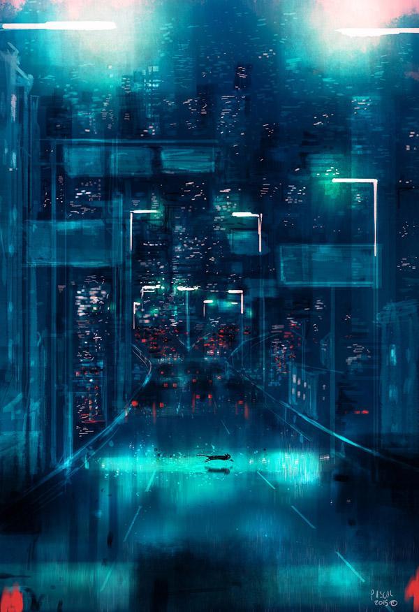 Metropolis by Pascal Campion