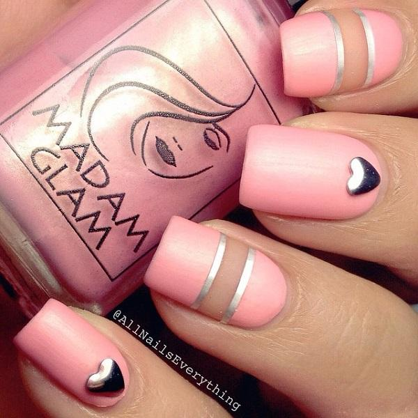 50 Pink Nail Art Designs | Art and Design