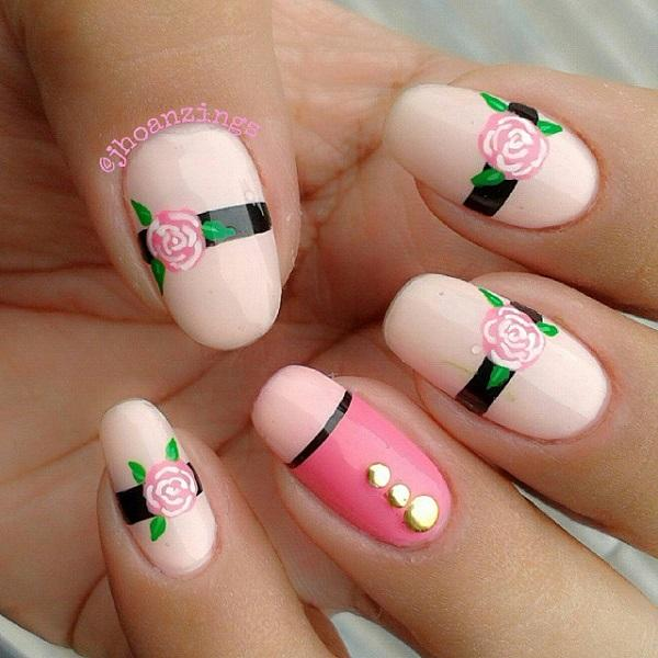 Pink nail-46