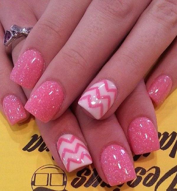 Pink nail-50