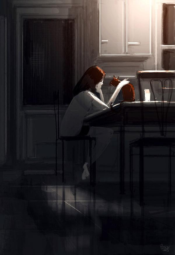 Shhhhh..it's going to be Ok  by Pascal Campion