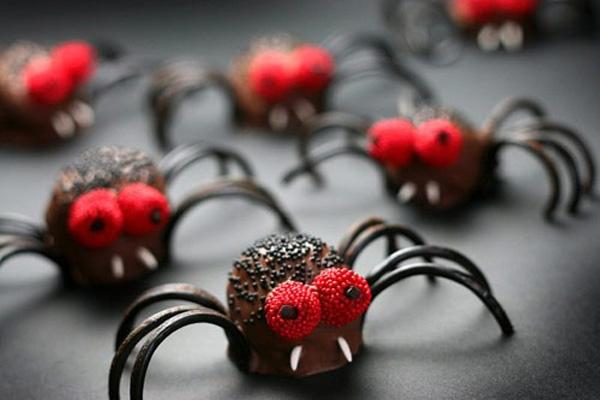 Spider brownie bites!
