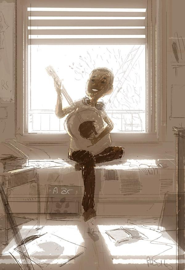 Sunny afternoons in fall by Pascal Campion