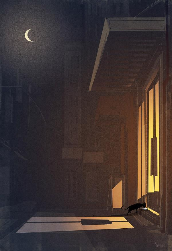 The cat came back by Pascal Campion