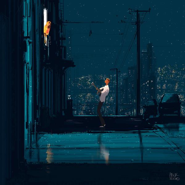 The old fashioned way by Pascal Campion