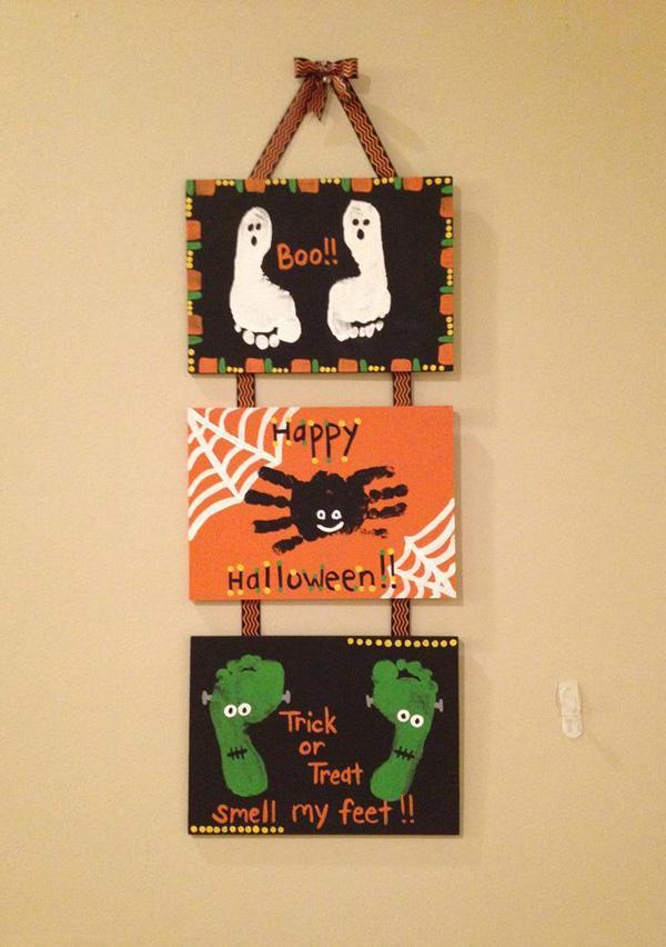 Toddler Halloween Craft