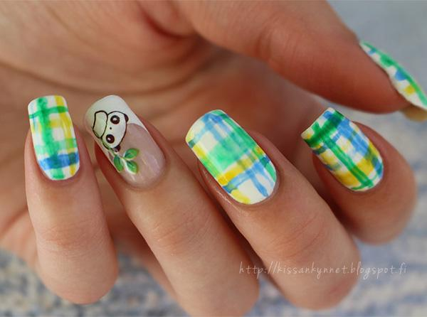 Watercolor Nail