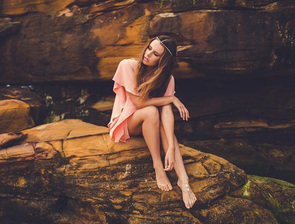 by the rocks by Julia Trotti