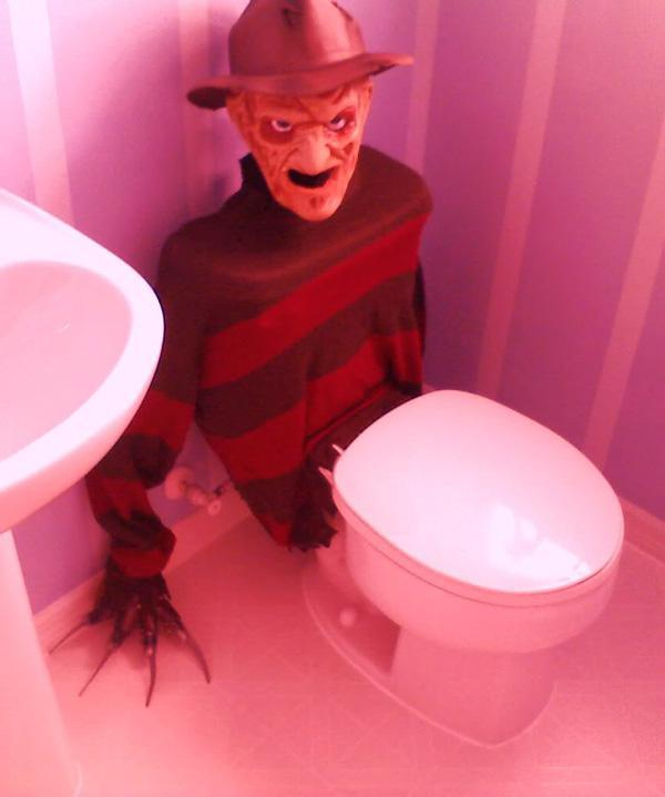 halloween decorations diy bathroom