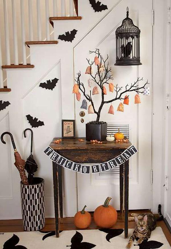 45 diy halloween decorating ideas art and design for Halloween home decorations