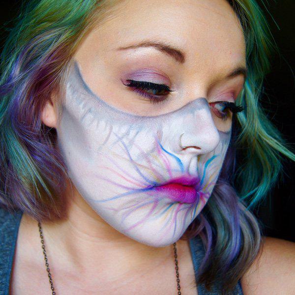 halloween makeup-1