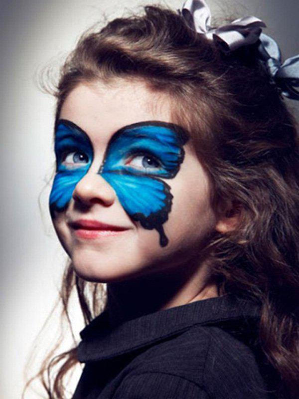 halloween-makeup-ideas-kids-girl-blue-butterfly