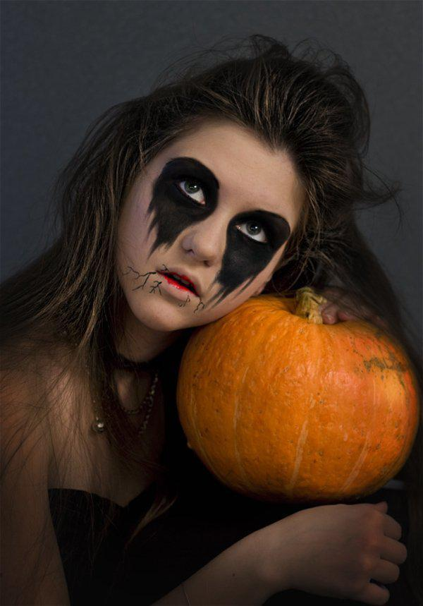 45+ Examples Of DIY Halloween Makeup | Art And Design