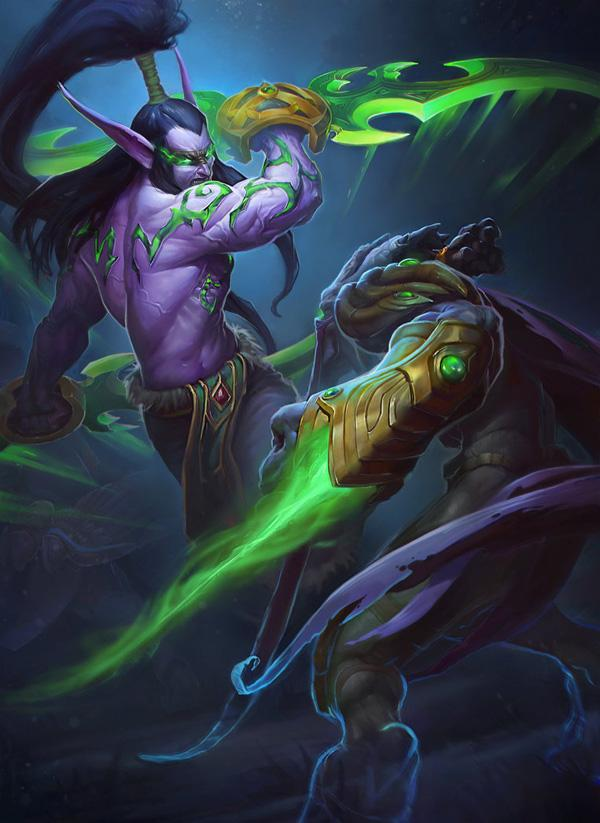 illidan_vs_zeratul_by_callergix