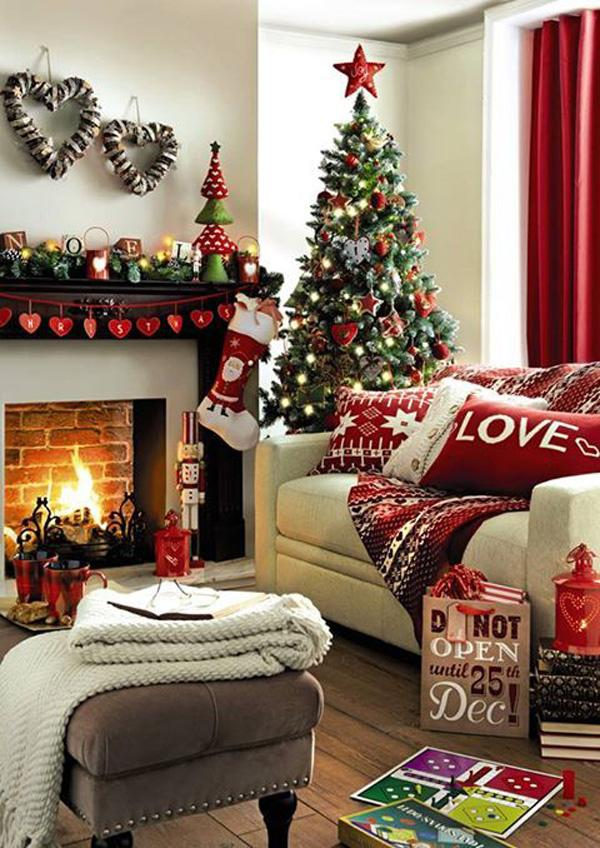 Awesome Christmas Home Decorations Photo