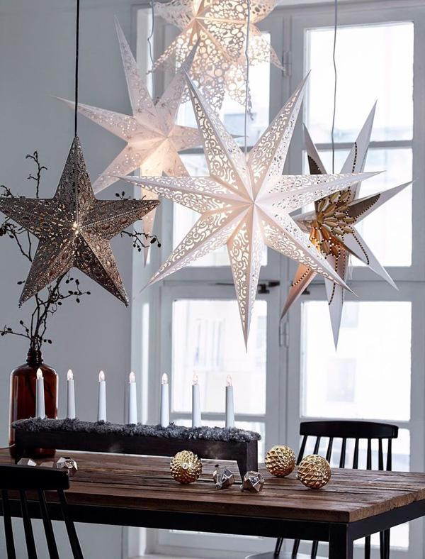 65 christmas home decor ideas art and design - Decoration interieur de noel ...