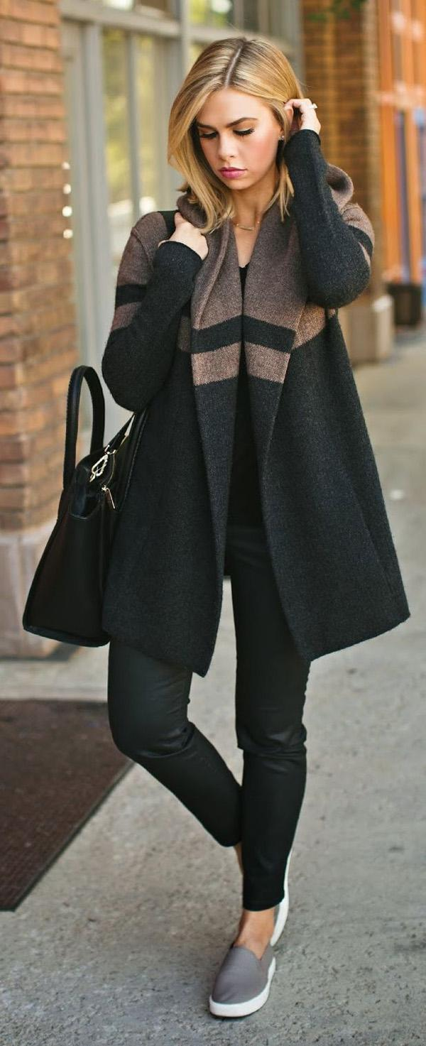 Long coat for fall