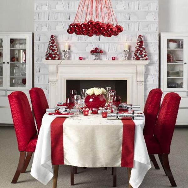 65 christmas home decor ideas art and design for Home decorations for christmas