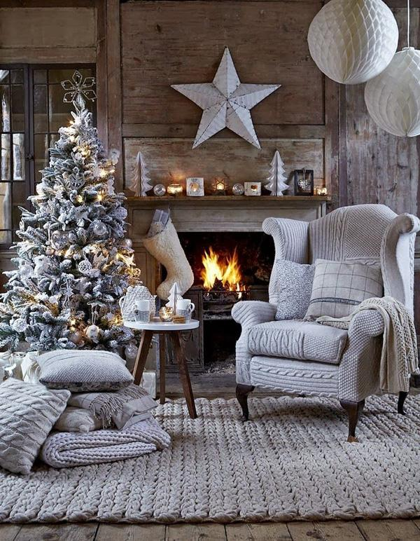 Turn Your Home Into A White And Snowy Christmas Place Add Effect To Your Christmas