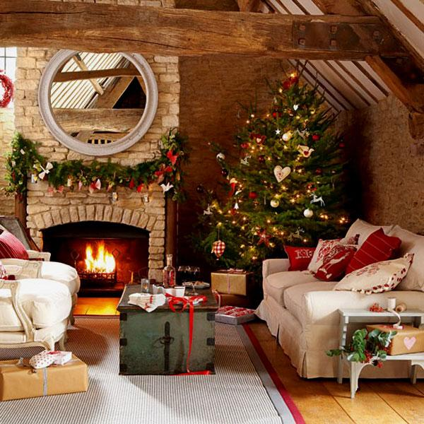 if you are going for a cozy christmas decor then this is probably what you