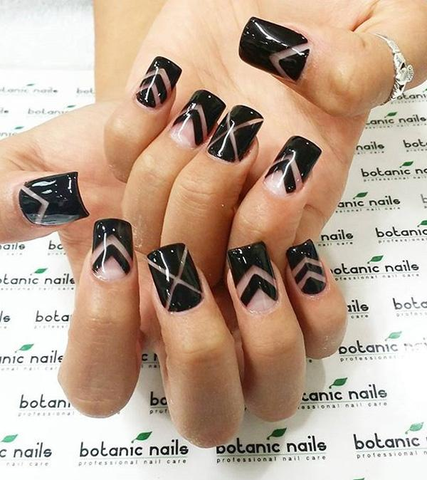 Black Nail Art-15
