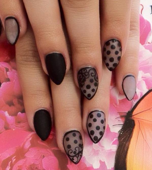 Black Nail Art-4