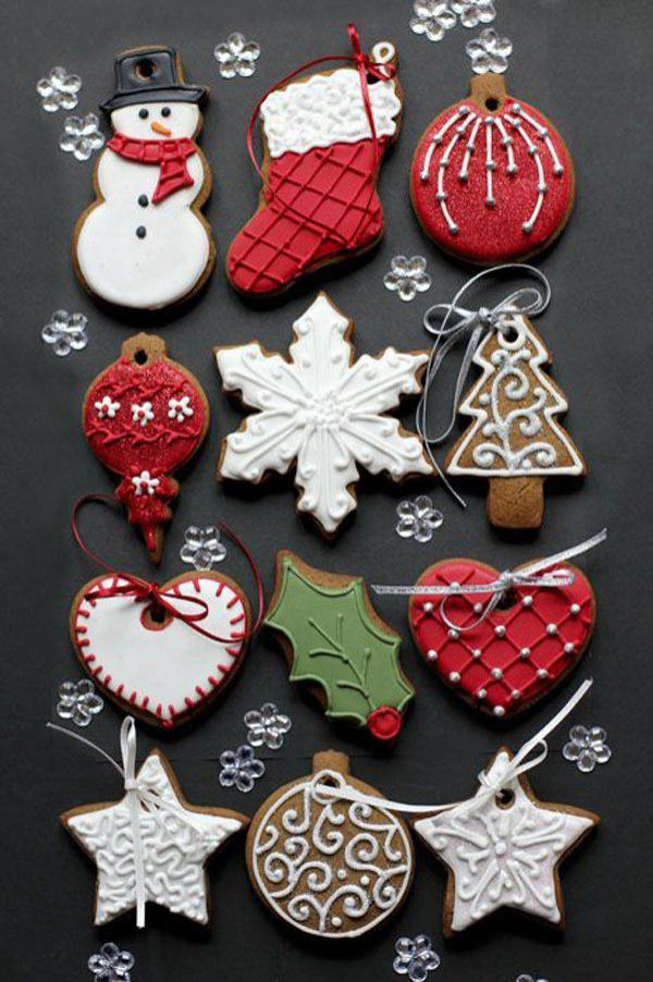 Christmas cookie decor