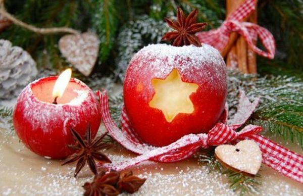 Cute apple DIY for christmas