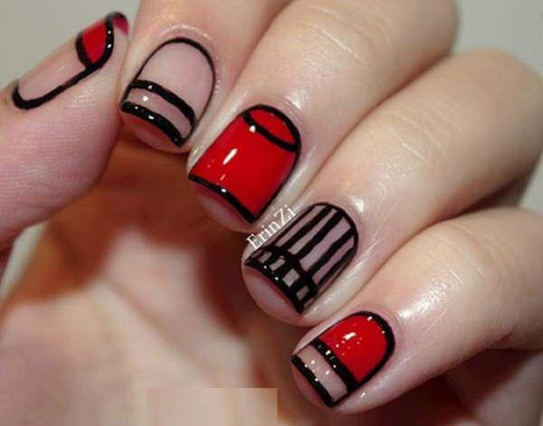 Amazing and intricate winter nail art details. Fill your nails with