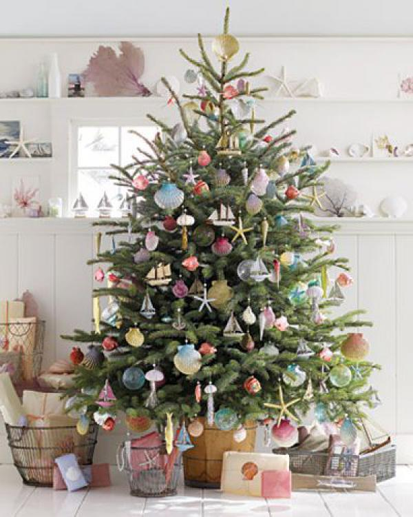 Sea wondering Christmas tree DIY