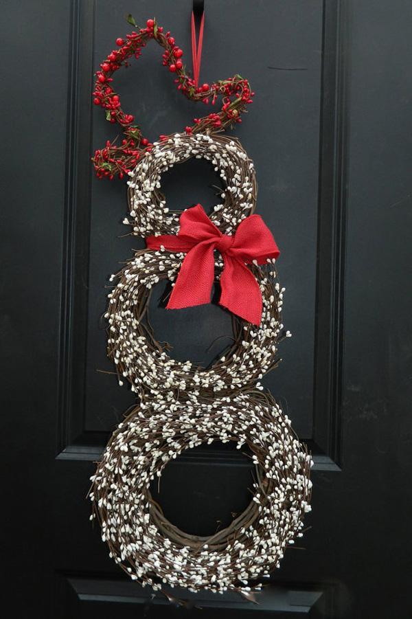 Snowmen Wreath