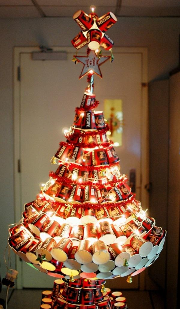 nescafe christmas tree