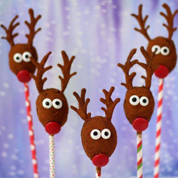 no bake oatmeal raisin reindeer